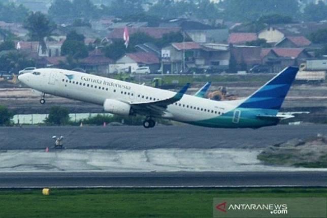 Image result for hadapi corona, penerbangan garuda ke korsel beroperasi normal- antaranews