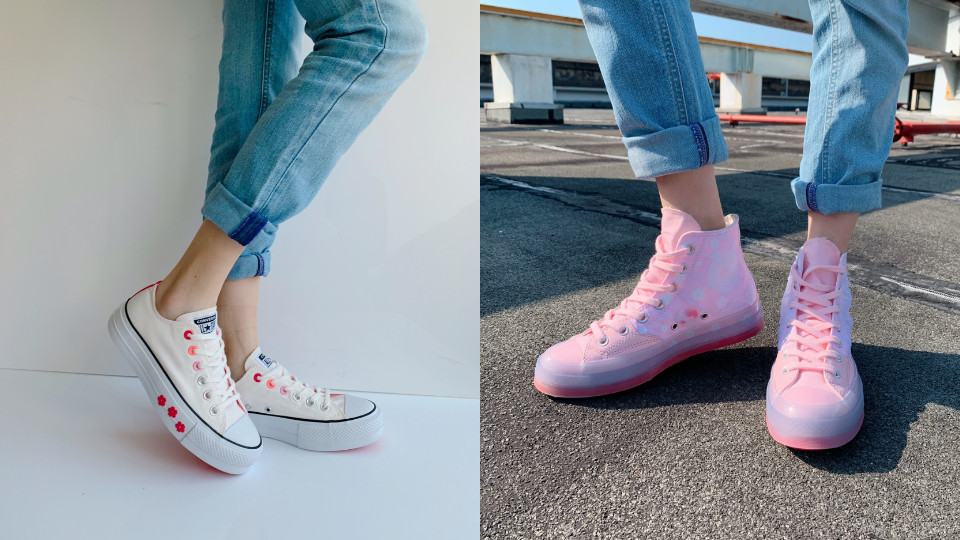 2020年最新粉色運動鞋款,右滑看圖輯!