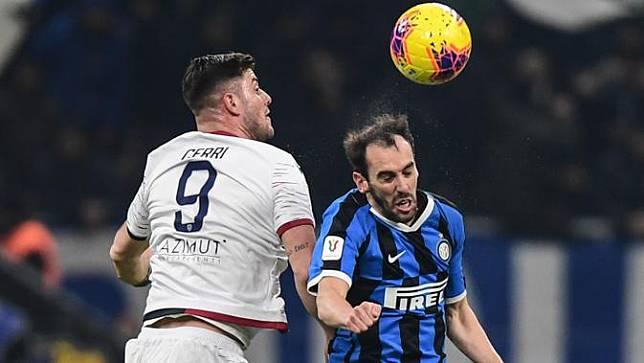 Belum Juga Satu Tahun Gabung Inter Milan, Diego Godin Sudah Dikabarkan Ingin Hengkang