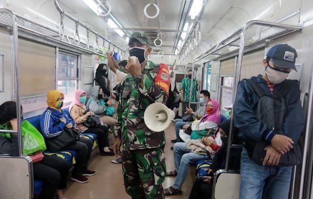 KCI Siap Terapkan New Normal, Penumpang Dilarang Bicara di Dalam KRL