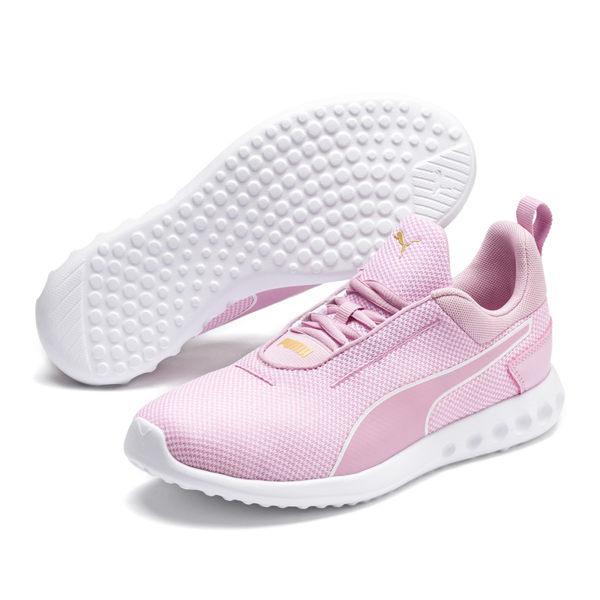 Softfoam鞋床提升了舒適性,n地面接觸式EVA外底確保了更輕的重量n透氣新款Core網眼鞋面