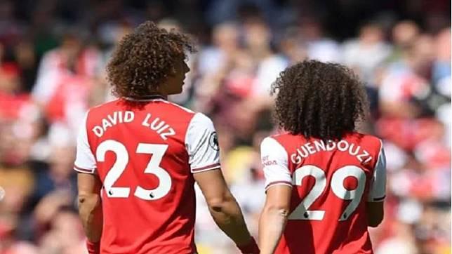 David Luiz dan Matteo Guendouzi