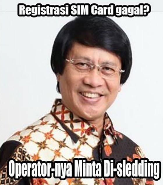 9 Meme Gagal Registrasi Kartu Prabayar yang Bikin Ngakak Online!