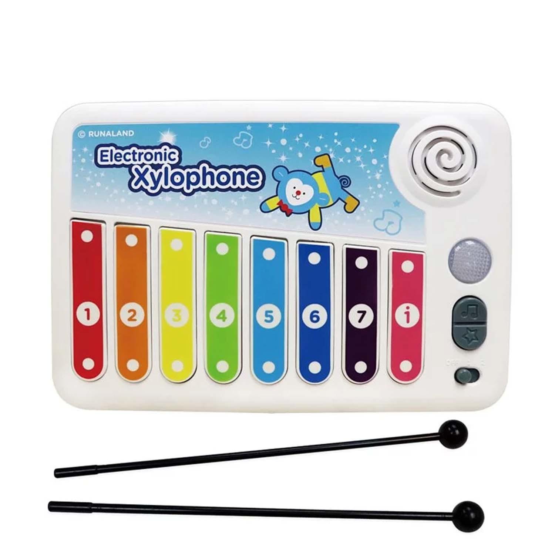 2種音色與模式、6首遊戲音樂、8首DEMO,豐富趣味。搭配遊戲書,親子共玩,建立自信心。聲音輕快、燈光溫和、安全享受音樂體驗;適合喜歡音樂的孩子,透過敲擊琴鍵來敲出美妙樂曲,不同顏色的燈光隨節奏閃爍搭