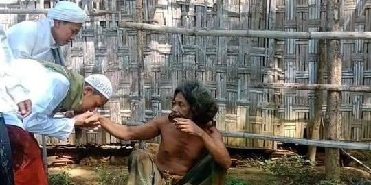 Viral Foto Pria Disebut Kiai. Instagram ndorobeii ©2020 Merdeka.com
