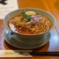 カレーラーメン - 実際訪問したユーザーが直接撮影して投稿した新宿タイ料理チャンパー 伊勢丹会館店の写真のメニュー情報
