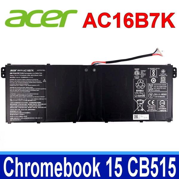 ACER AC16B7K 原廠電池 Chromebook 15 CB515 CB515-1H CB515-1HT 系列