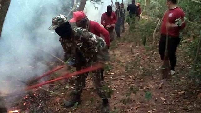 ไฟป่ายังโหมลุกไหม้พื้นที่ป่าเขาสูง อุทยานแห่งชาติปางสีดากว่า 500 ไร่ ไม่หยุด