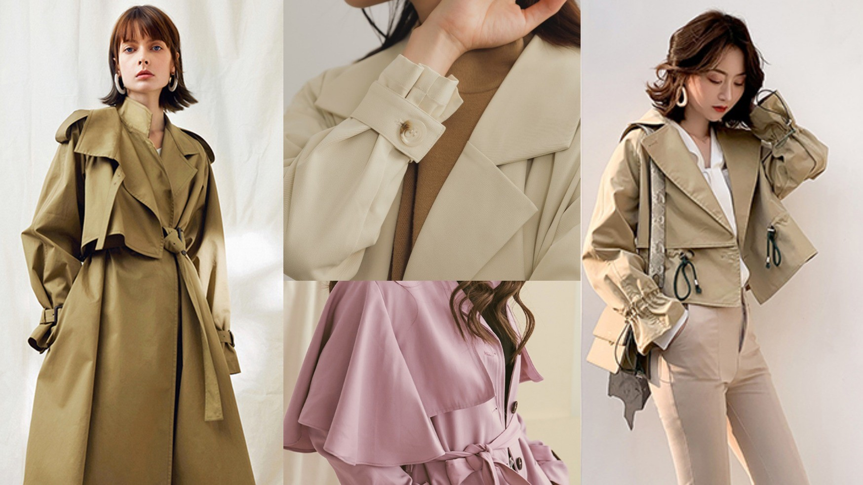 【春季風衣】盤點!選擇你的命定風衣讓你走在街上都有風!