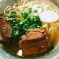 ラフティそば - 実際訪問したユーザーが直接撮影して投稿した新宿沖縄料理やんばる 本店の写真のメニュー情報