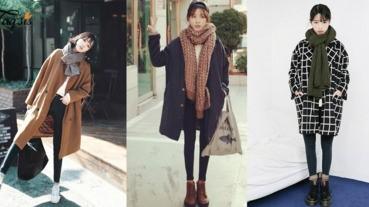 10種最容易上手的圍巾綁法~時尚又保暖!光掛在頸上不如來點變化?