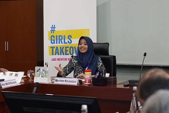 Cerita Tania, Siswa SMAN 4 Surakarta Yang Terpilih 'Gantikan' Sri Mulyani jadi Menkeu Selama Sehari