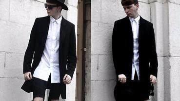 【造型筆記】穿出高挑好比例的六個「長版襯衫」造型提案