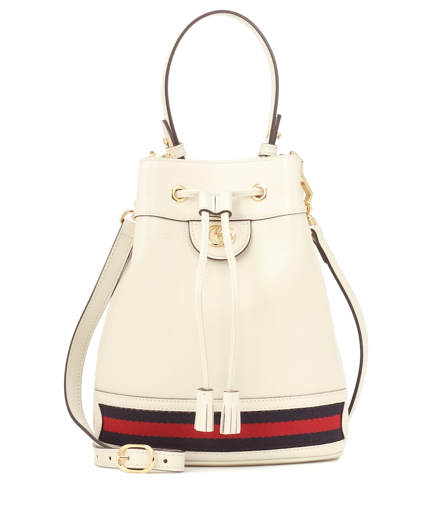 Gucci's coveted Ophidia collection reaches modern heights with the Small bucket bag.