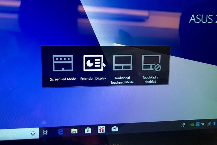 Asus 推出雙螢幕筆電 ZenBook Pro,觸控板「ScreenPad」變成你的第二個螢幕