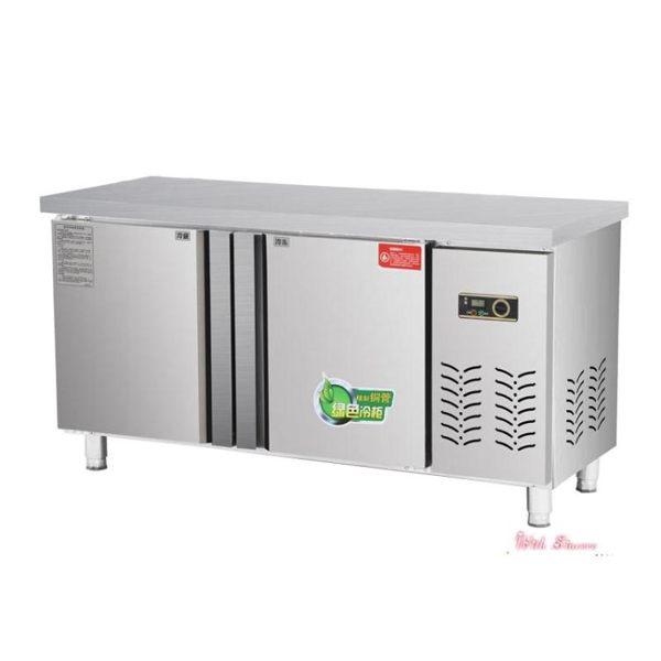 冷藏工作台冰櫃商用奶茶水吧台冷凍冷櫃操作台平冷冷藏櫃廚房保鮮