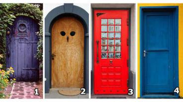 【心理測驗】你選哪一扇門?了解你的「幸福」來源