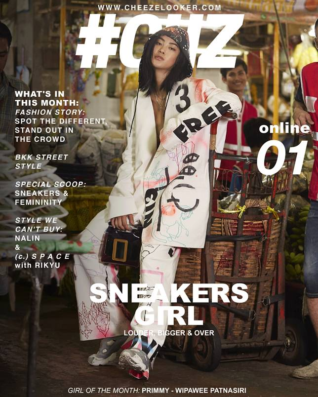 SNEAKERS GIRL ISSUE ONLINE NO. 01