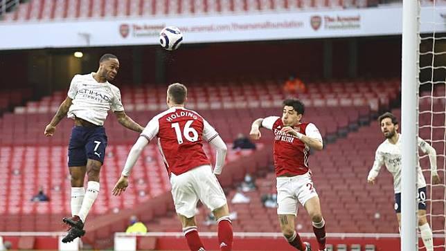 Manchester City vs Arsenal di Liga Inggris