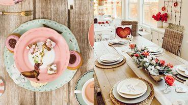 情人節在家這樣過!浮誇系女友必收「夢幻家居選物」推薦,復古杯盤、香氛蠟燭擺一桌大餐~不出門也可以耍浪漫