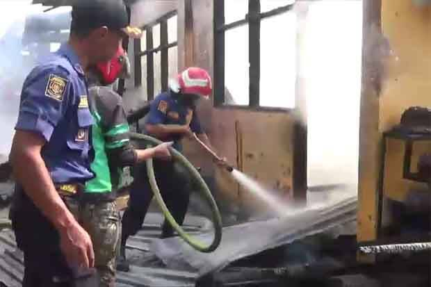 Menunggu Cucu Ujian, Kakek Meninggal saat Lihat Sekolah Terbakar