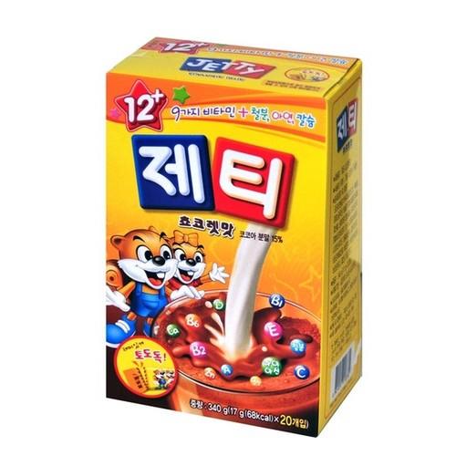 [韓國直送][POST] Jetti 巧克力口味調味吸管 (17g*20ea)