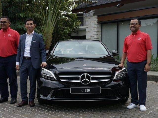 Dirakit di Indonesia, Mercedes-Benz New C180 Resmi Diluncurkan