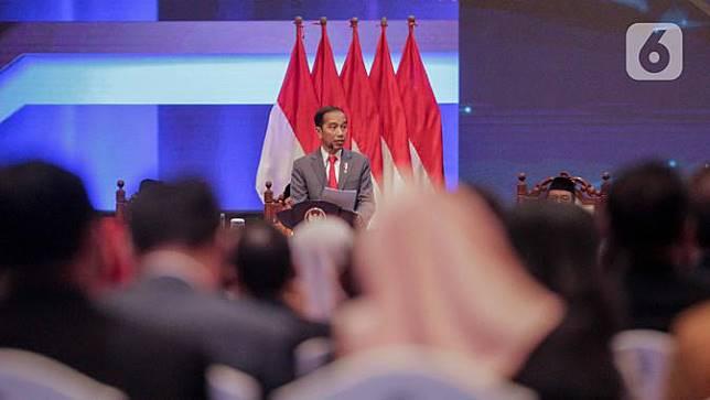 Presiden Jokowi Hadiri Sidang Laporan Tahunan MA 2019