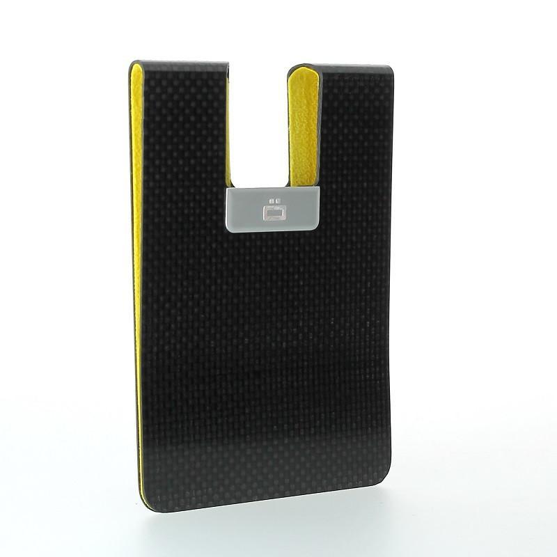 Carbon Passport Clip RFID安全防盜碳纖維護照夾