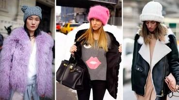 原來今年冬天「毛帽」也玩 oversize!超強選購重點:大、挺、亮