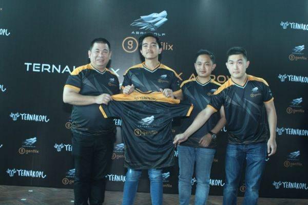 Kaesang Pangarep bergabung ke tim e-sport Genflix Aerosport