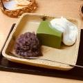 抹茶ババロア - 実際訪問したユーザーが直接撮影して投稿した神楽坂和菓子・甘味処紀の善の写真のメニュー情報