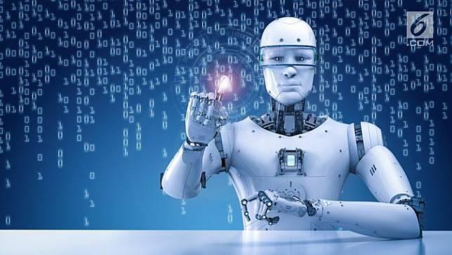 Ilustrasi Robot