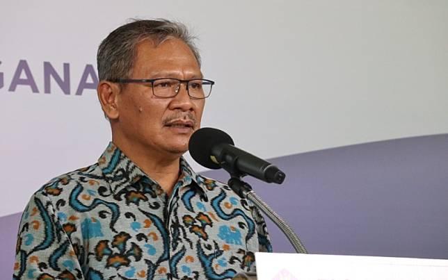Juru Bicara Pemerintah untuk Penanganan Covid-19 Achmad Yurianto memberikan update data virus corona (Covid-19) di Indonesia dalam konferensi pers dari Graha BNPB, Minggu (24/5/2020)/Dok.-Gugus Tugas Covid-19