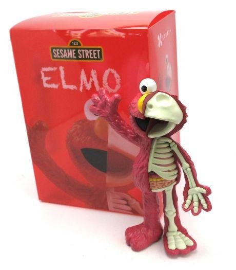 (卡司 正版現貨) 代理版 芝麻街 艾蒙Elmo Mighty Jaxx-XXRAY 8.5吋 半剖系列
