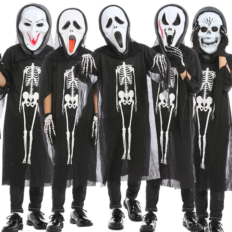 圖案:純色顏色:兒童單件鬼衣,成人單件鬼衣,兒童尖叫三件套,兒童男鬼三件套,兒童女鬼三件套,兒童巫婆三件套,兒童蜈蚣三件套,兒童長舌三件套,成人尖叫三件套,成人男鬼三件套,成人女鬼三件套,成人巫婆三件