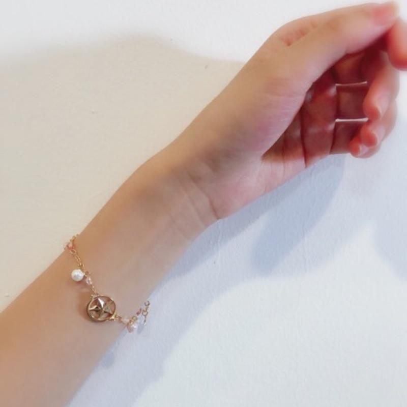 珍珠美少女戰士手鏈 正韓手鏈 手環 Q8