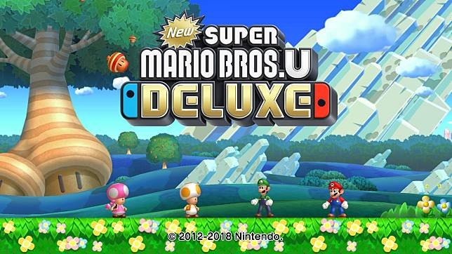 任天堂將Wii U舊作《New Super Mario Bros. U》在Switch上重新推出,名稱就加上個「DELUXE」字。