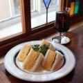 たまごサンド - 実際訪問したユーザーが直接撮影して投稿した菊井カフェ喫茶ゾウメシの写真のメニュー情報