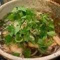 冷たい山椒肉そば - 実際訪問したユーザーが直接撮影して投稿した西新宿そば肉そば家 笑梟の写真のメニュー情報
