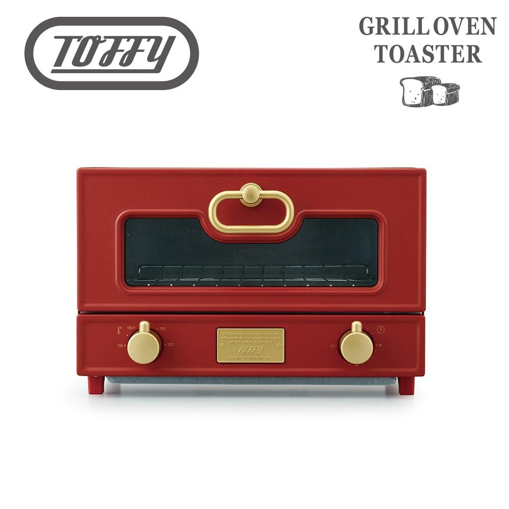 Toffy Oven Toaster 日本電烤箱-復古紅 生活工場