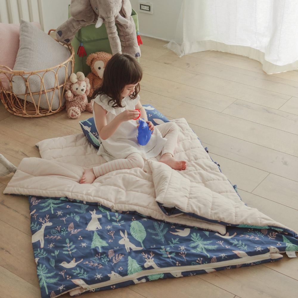 兒童睡袋 / 四季多用途睡袋 / 收納便利 / 無毒印染 / 迷路