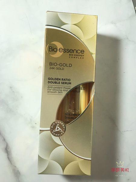 【Bio-essence 碧歐斯】BIO金萃黃金比例雙精華 36g(BIO金萃黃金系列) 效期2020.09【淨妍美肌】