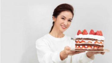 【娛樂TeaTime】全家有口福 陳小菁手作蛋糕討好女兒