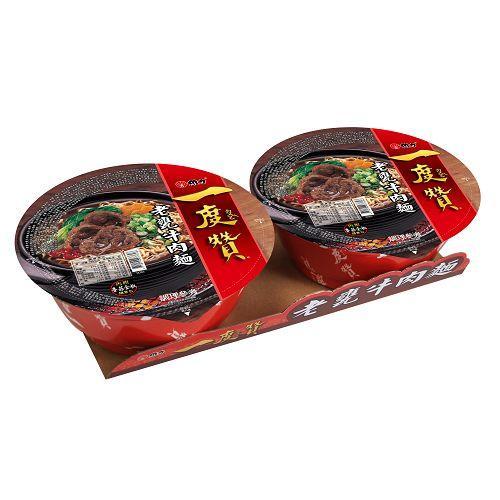 ★ 台灣泡麵三大品牌 ★ 越吃越讚 ★ 有呷有Lucky ★ 香Q的麵身,大眾化口味 ★ 香濃帶勁的牛肉麵,好吃越吃越讚