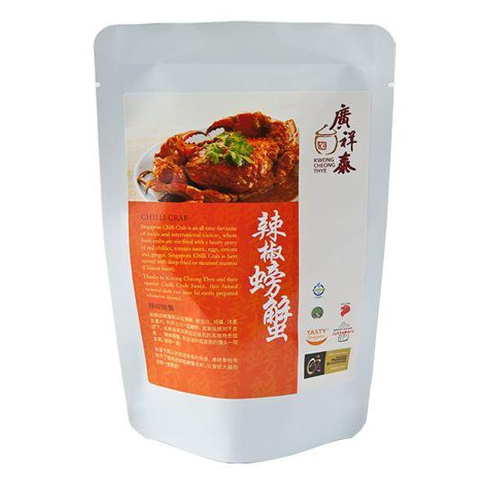 新加坡 廣祥泰 辣椒螃蟹風味醬300g【豐食堂商城】