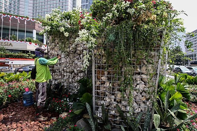Gabion pengganti Getah Getih bukan instalasi seni