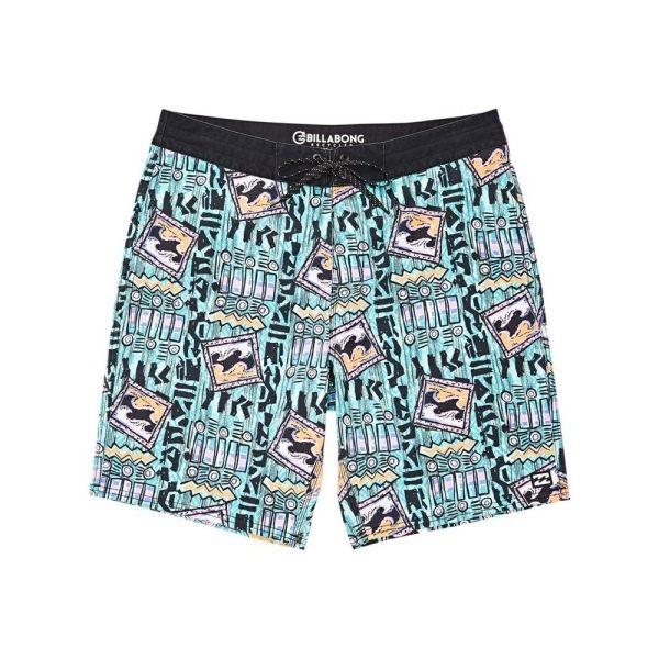 澳洲第一衝浪品牌n四向排水科技混纖維n兩側及後側掀蓋口袋設計n專業及休閒感兼具之衝浪褲