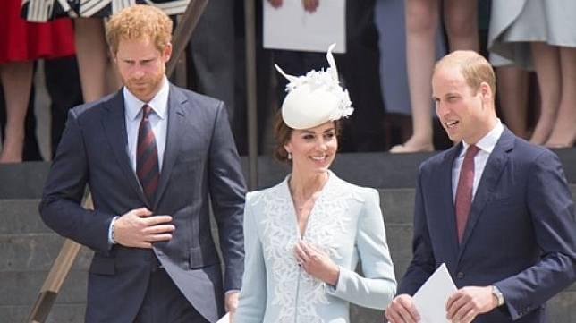 Pangeran Harry dan Pangeran William. (Shutterstock)