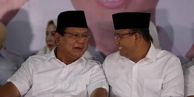 Survei: Anies jadi Lawan Terberat Prabowo jika Maju pada Pilpres 2024